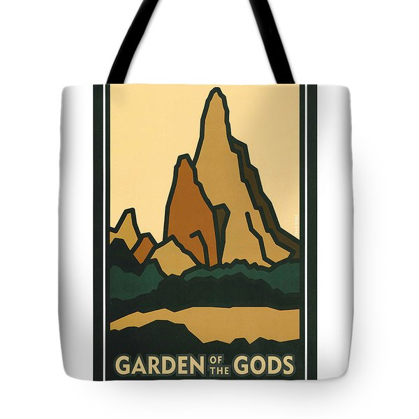 Colorado Garden Of The Gods Tote Bag