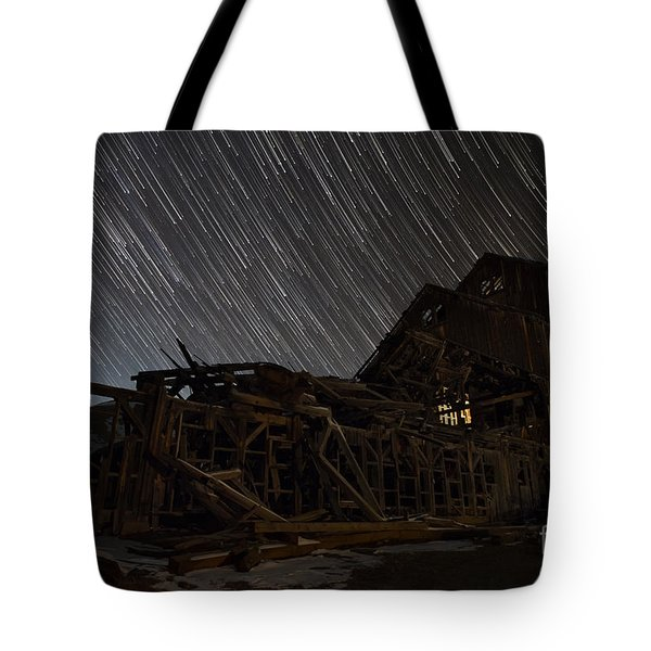 Colorado Gold Mine Tote Bag by Keith Kapple