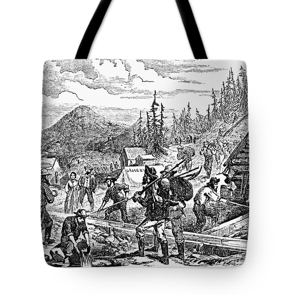 Colorado: Gold Mining, 1859 Tote Bag by Granger