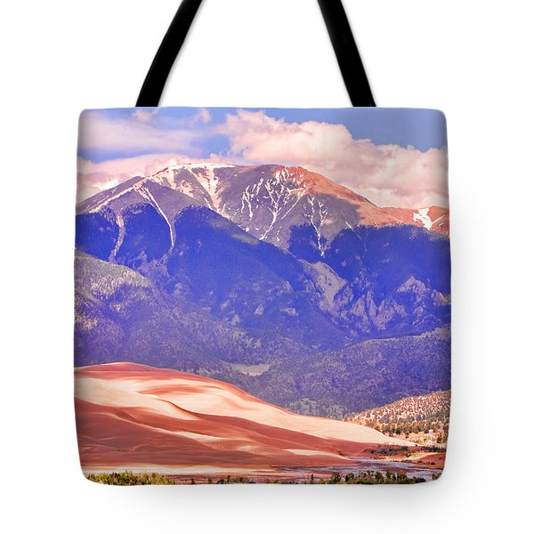 Colorado Great Sand Dunes National Park  Tote Bag by James BO  Insogna