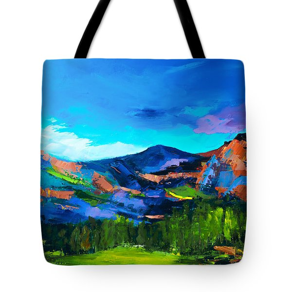 Colorado Hills Tote Bag