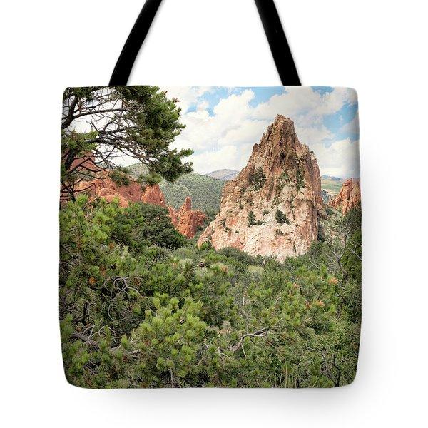 Colorado In Summer Tote Bag
