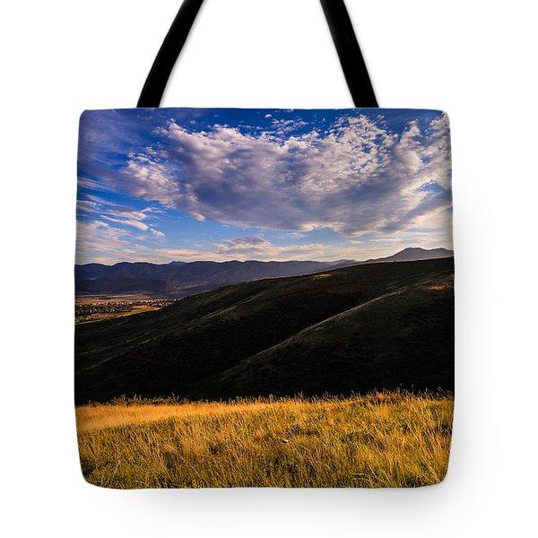 Colorado Landscape Tote Bag by Jonathan Gewirtz