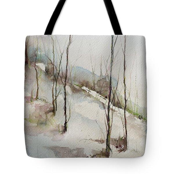 Colorado Morning Tote Bag