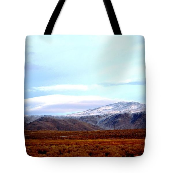 Colorado Mountain Vista Tote Bag