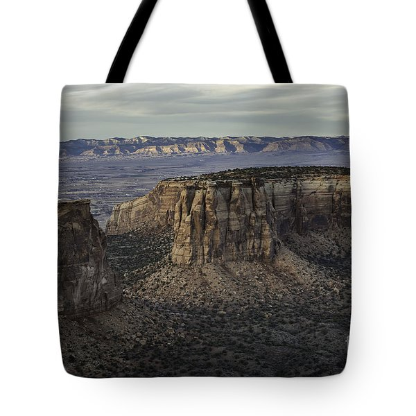 Tote Bag featuring the photograph Colorado National Monument 2 by Bitter Buffalo Photography