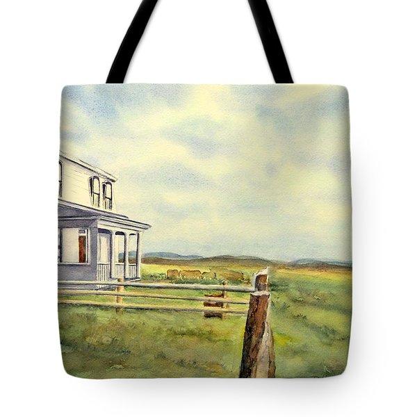 Colorado Ranch Tote Bag