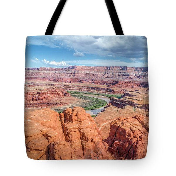 Colorado River And Chicken Corner Trail  Tote Bag
