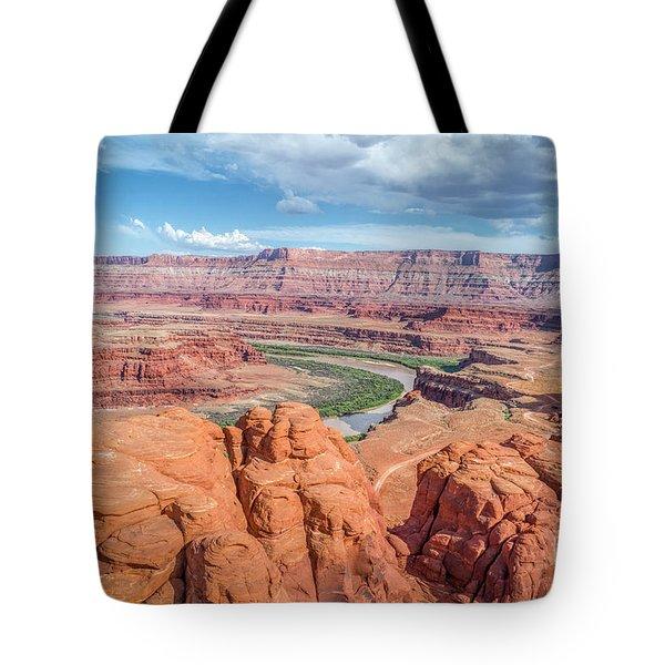Colorado River And Chicken Corner Trail  Tote Bag