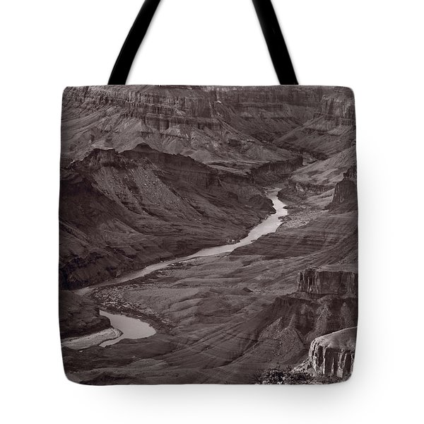 Colorado River At Desert View Grand Canyon Tote Bag by Steve Gadomski