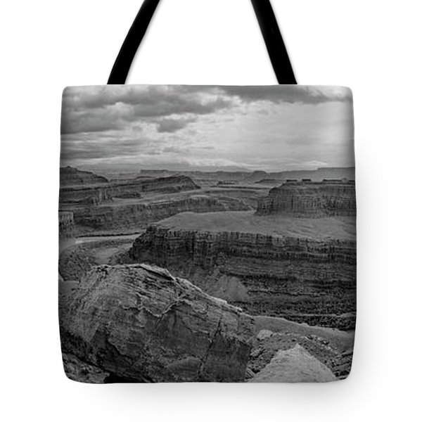 Colorado River Gooseneck Pano Tote Bag