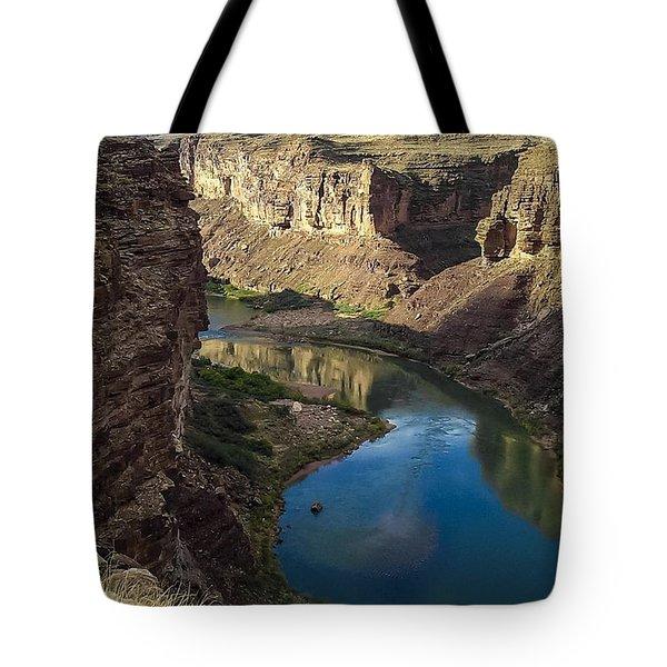 Colorado River Grand Canyon National Park Tote Bag