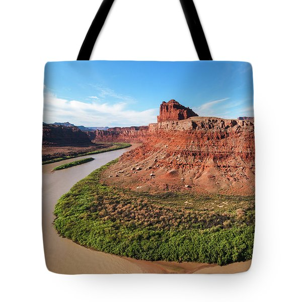 Tote Bag featuring the photograph Colorado River II by Sharon Seaward