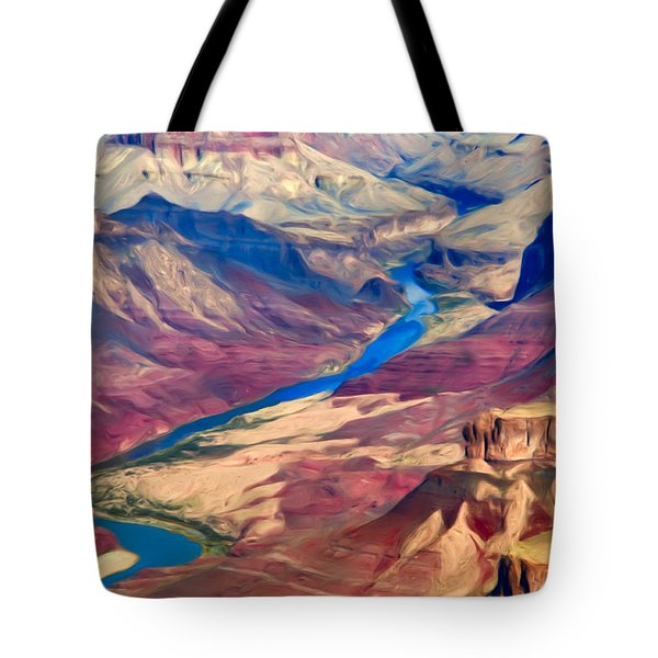 Colorado River In Grand Canyon Tote Bag