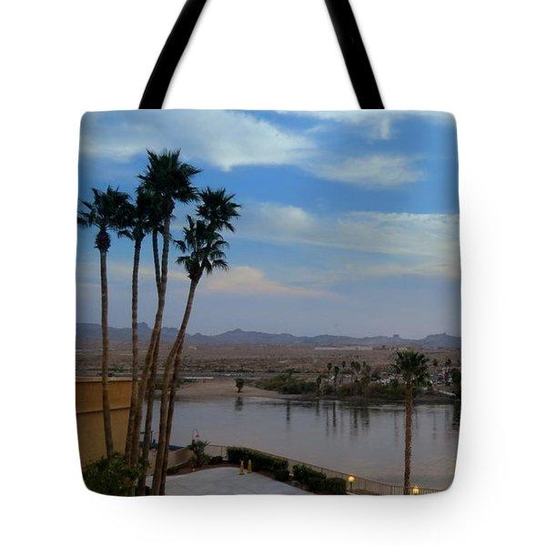 Colorado River View Tote Bag