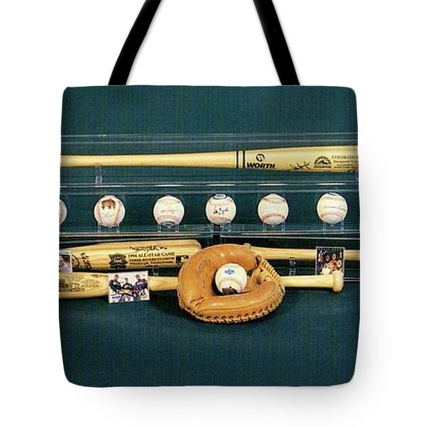 Colorado Rockies Collectables Tote Bag