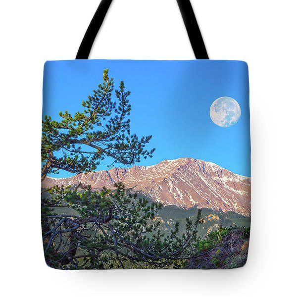 Colorado Rocky Mountain High, Just A Breath Away From Heaven Tote Bag