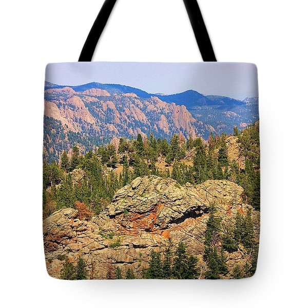 Tote Bag featuring the photograph Colorado Rocky Mountains by Sheila Brown