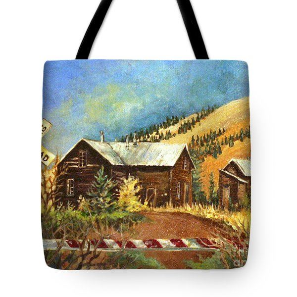 Colorado Shed Tote Bag