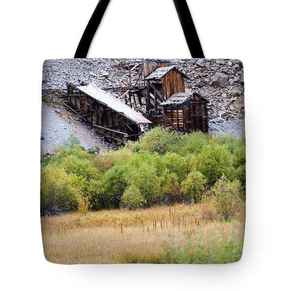 Colorado Silver Mine  Tote Bag