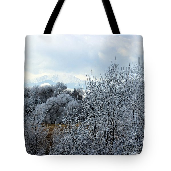 Colorado Springs Winter Tote Bag