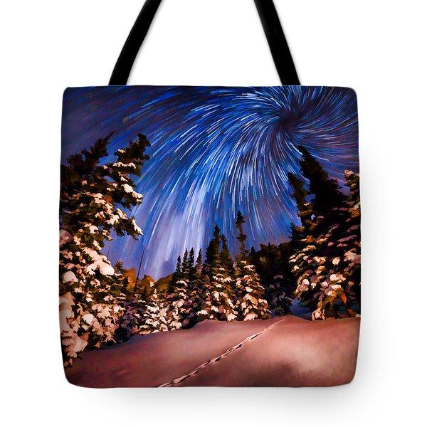 Colorado Starry Night Tote Bag