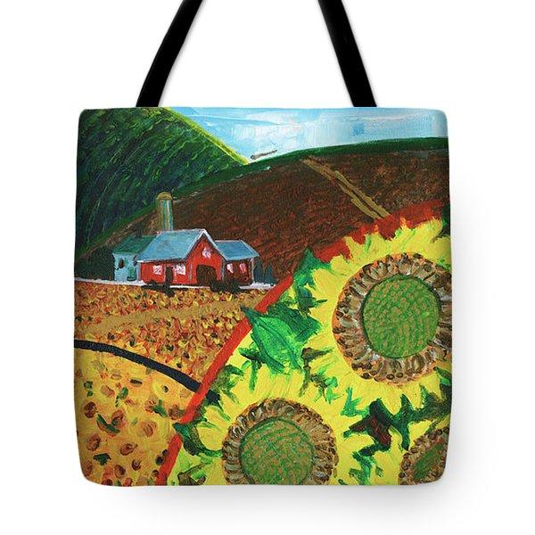 Colorado Sunflowers Tote Bag