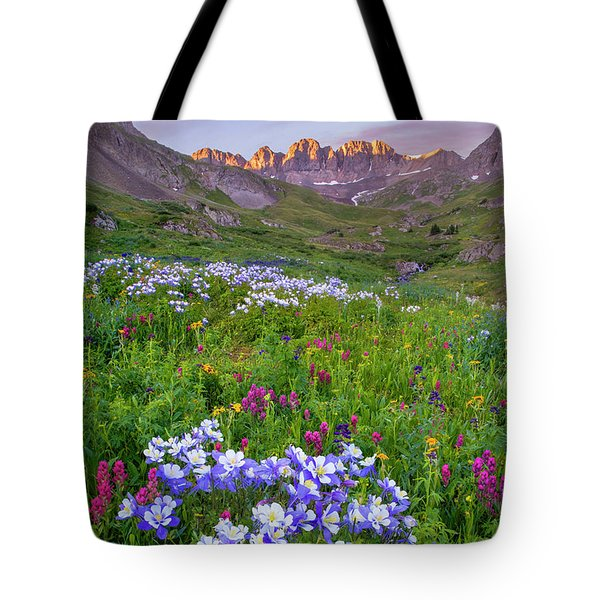 Colorado Sunrise - American Basin Tote Bag