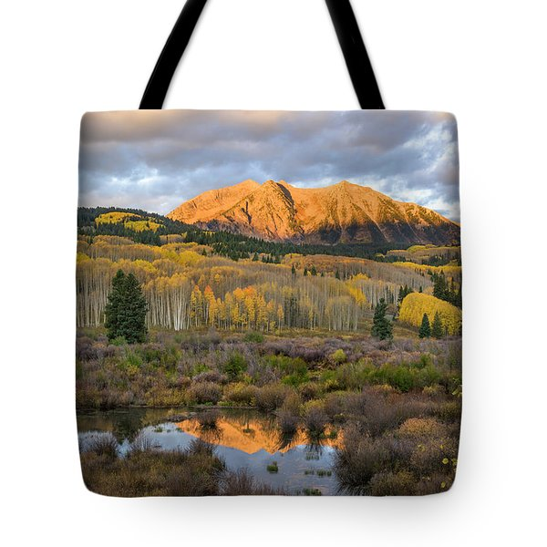 Tote Bag featuring the photograph Colorado Sunrise by Phyllis Peterson