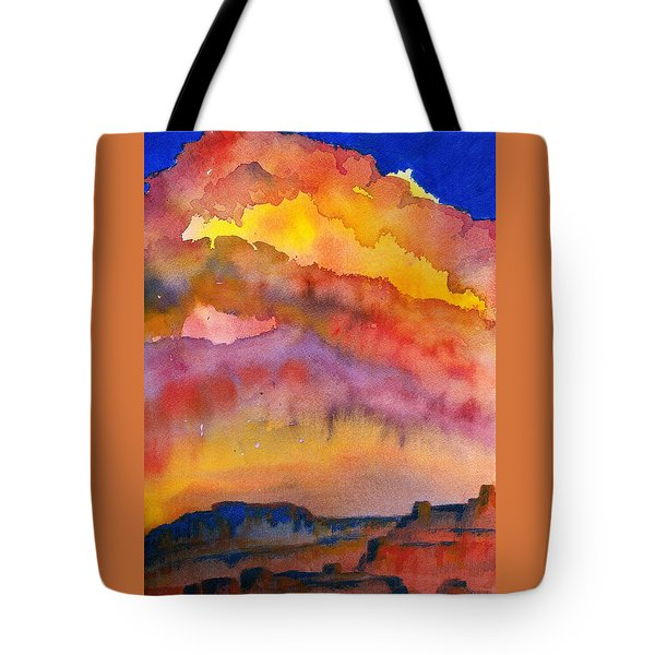 Colorado Sunset Tote Bag