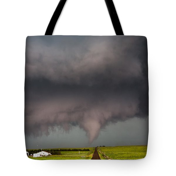 Colorado Tornado 2 Tote Bag by James Menzies