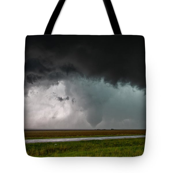 Colorado Tornado Tote Bag by James Menzies