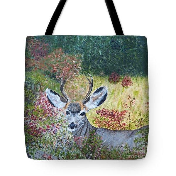 Colorado White Tail Deer Tote Bag