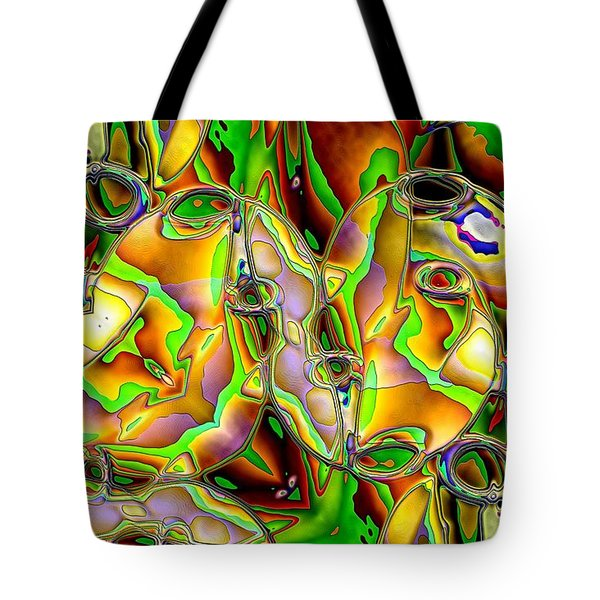 Colored Film Tote Bag by Ron Bissett
