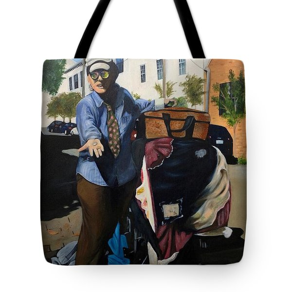 Colored Glasses Tote Bag