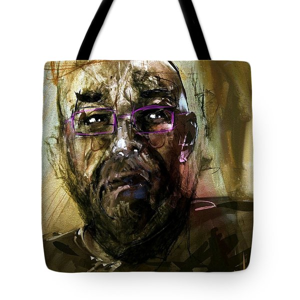 Colored Glasses Tote Bag by Jim Vance