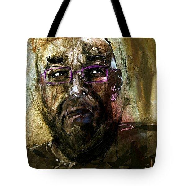 Colored Glasses Tote Bag