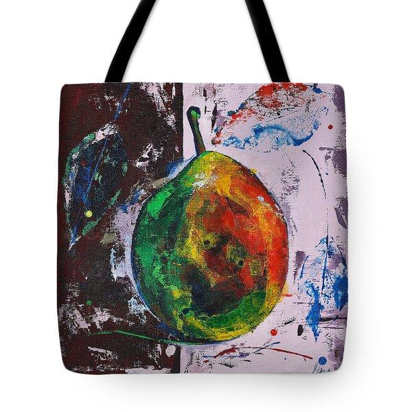 Colored Juicy Fruit Tote Bag