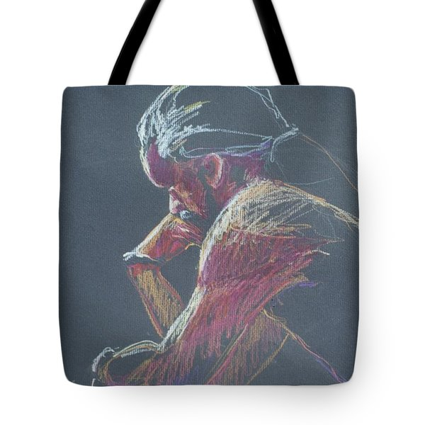 Colored Pencil Sketch Tote Bag