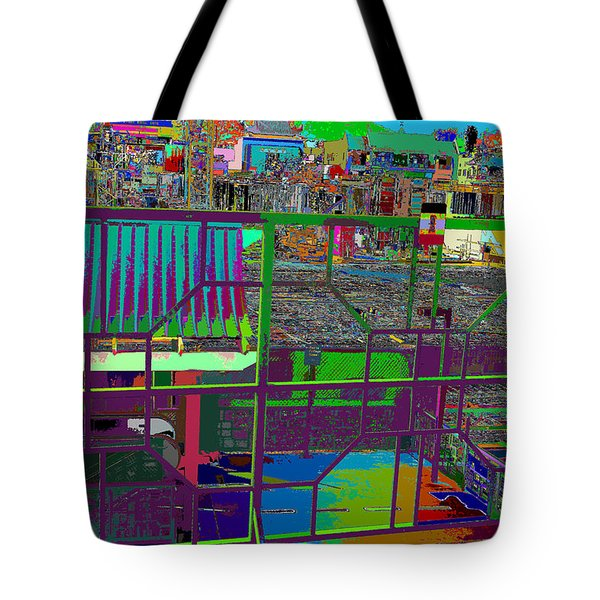 colorfication of Chinatown  Tote Bag