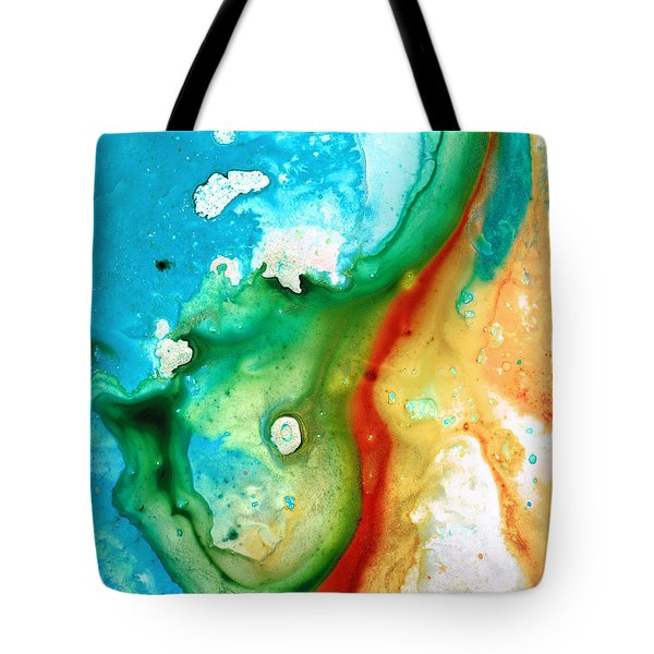 Colorful Abstract Art - Captured - By Sharon Cummings Tote Bag