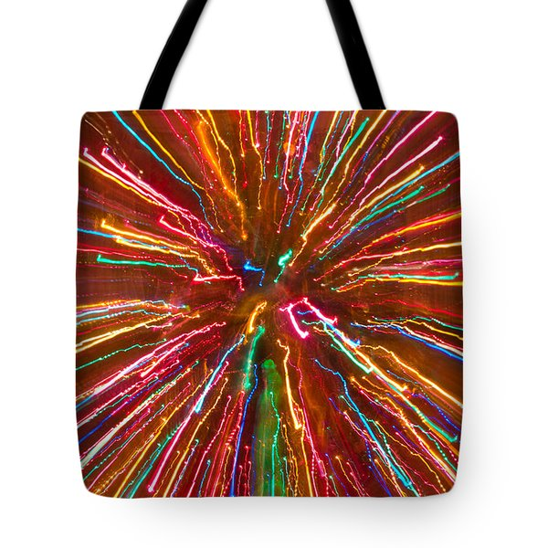 Colorful Abstract Photography Tote Bag by James BO  Insogna