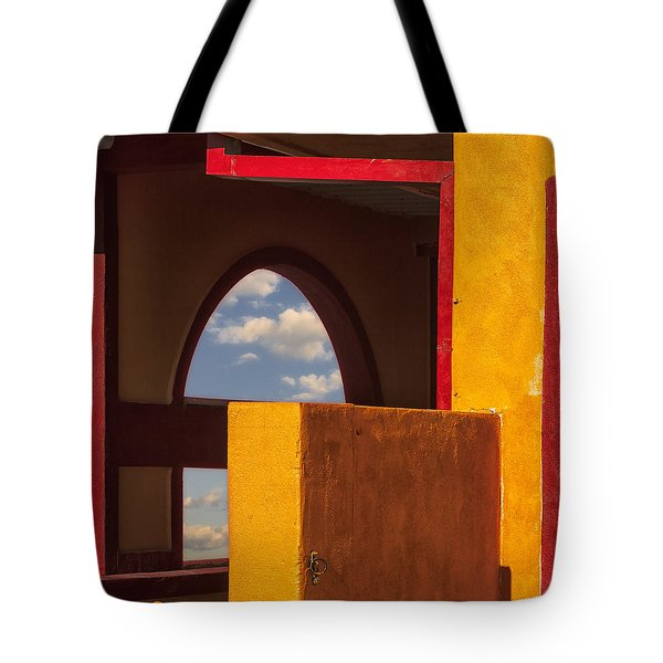 Colorful Adobe One Tote Bag by Gary Warnimont