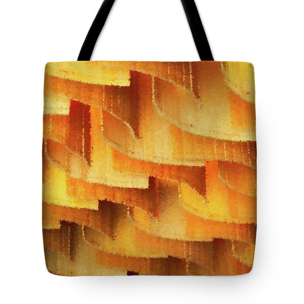 Colorful Bamboo Ceiling- China Tote Bag