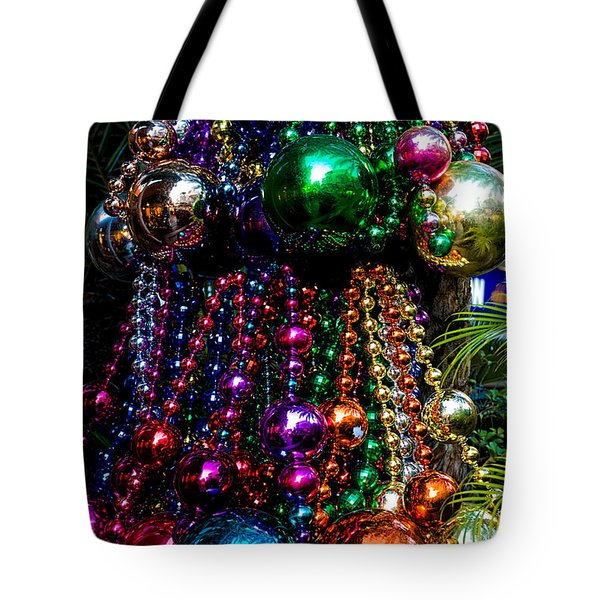 Colorful Baubles Tote Bag