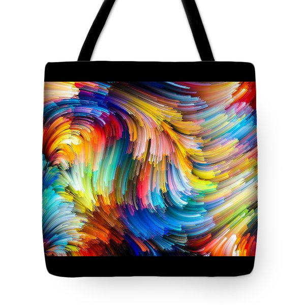 Colorful Beauty Tote Bag