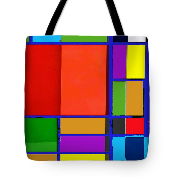 Colorful Boxes Tote Bag