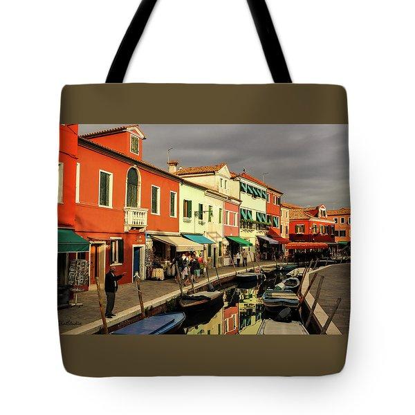 Colorful Burano Tote Bag