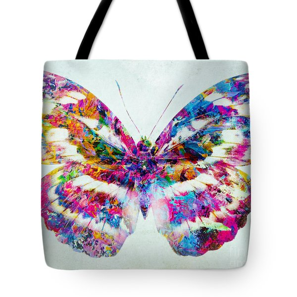 Colorful Butterfly Art Tote Bag