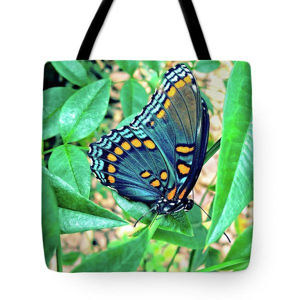 Colorful Butterfly Tote Bag